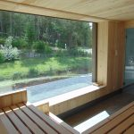 Ausblick Bio- Sauna
